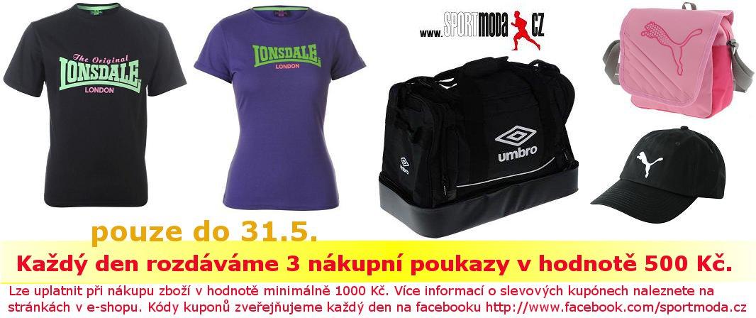 Novinky Sportmoda 27.5.2011