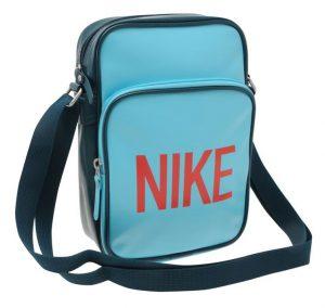 Taštička přes rameno Nike Heritage 81 tyrkysová