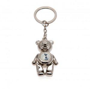 Přívěšek na klíče kovový medvídek Tottenham Hotspur FC