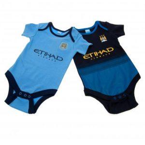 Kojenecké body Manchester City FC (2 ks) (typ MC)