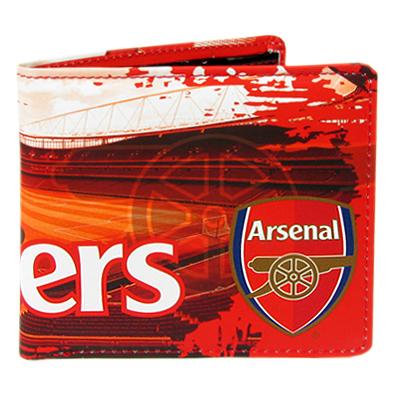 Peněženka Arsenal FC červená stadion