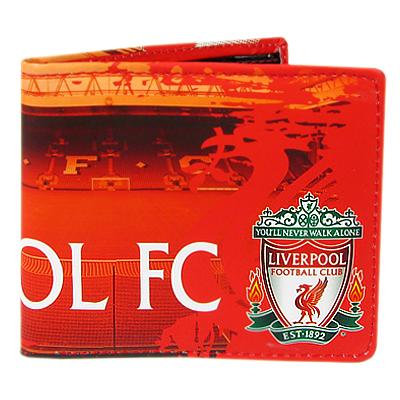 Peněženka Liverpol FC červená stadion