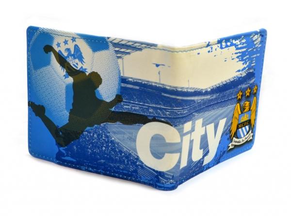 Peněženka Manchester City FC modrá stadion