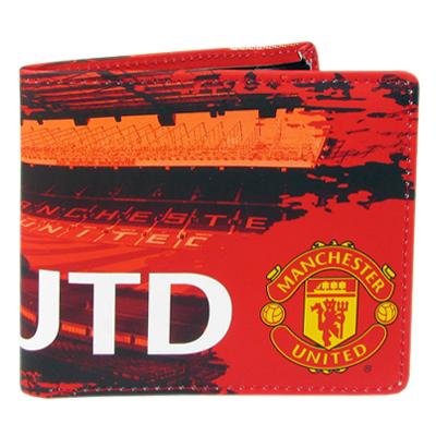 Peněženka Manchester United FC červená stadion