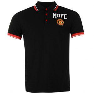 Pánské tričko polo Manchester United FC černé (typ 99)