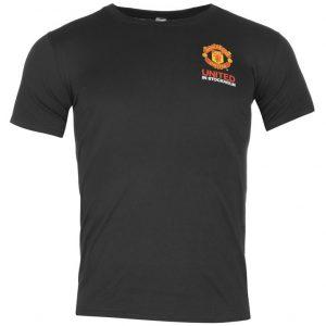Pánské tričko Manchester Untied FC černé (typ Stockholm)