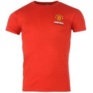 Pánské tričko Manchester Untied FC červené (typ Stockholm)