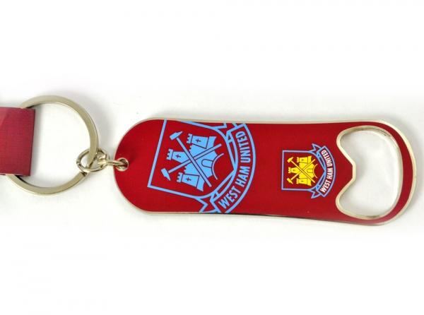 Přívěšek otvírák barevný West Ham United FC