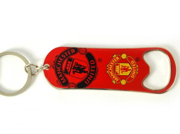 Přívěšek otvírák barevný Manchester United FC
