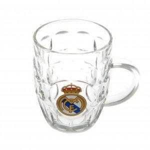 Pivní sklenice s uchem Real Madrid FC (typ TK)