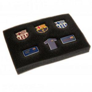 Sada 6 odznaků Barcelona FC