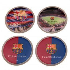 Sada 4 placek Barcelona FC (typ 15)