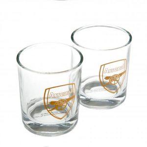 Sada 2 skleniček na whisky Arsenal FC