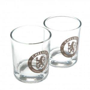 Sada 2 skleniček na whisky Chelsea FC