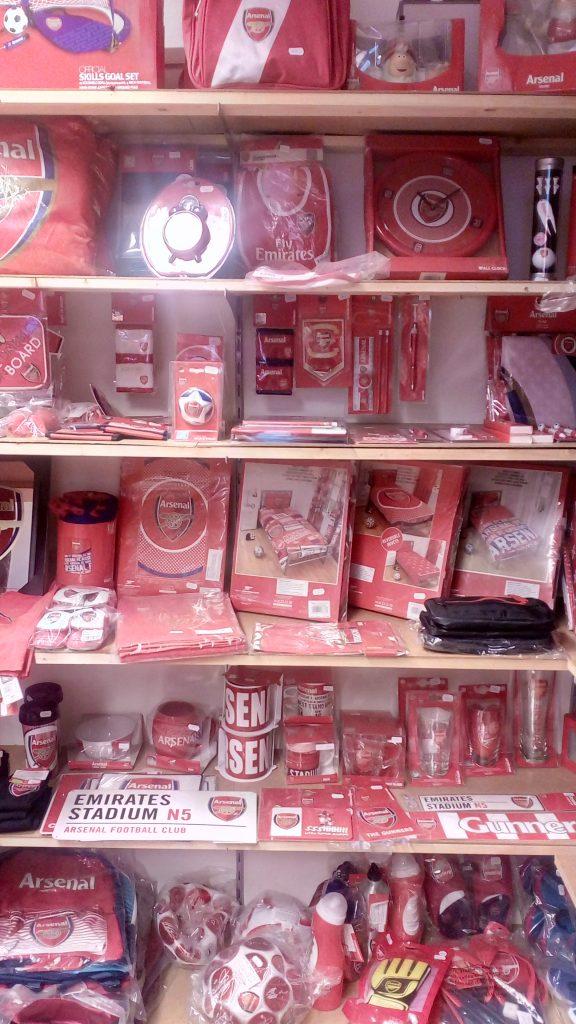 Produkty Arsenal FC