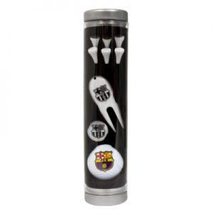 Golfová sada Barcelona FC v tubě