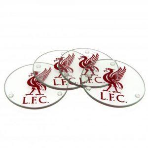Skleněné podtácky Liverpool FC (typ RD)