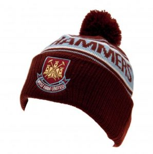 Zimní čepice West Ham United FC s bambulí (typ TX)