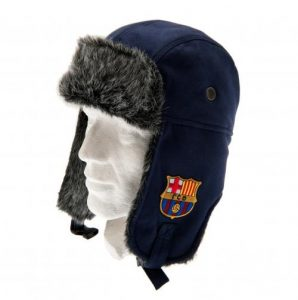 Zimní čepice beranice Barcelona FC