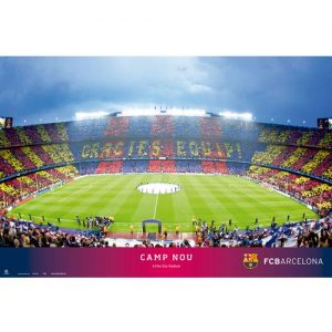 Plakát stadion Barcelona FC (typ 37)