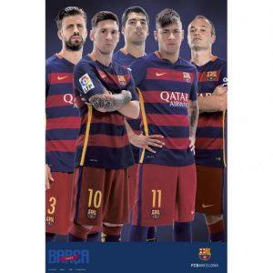 Plakát Barcelona FC hráči (typ 82)