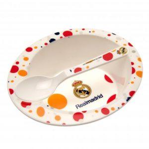 Dětský talířek se lžičkou Real Madrid FC (typ 16)