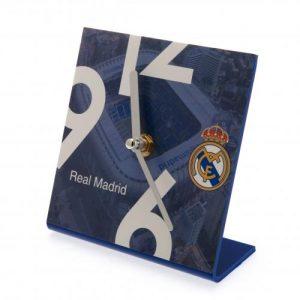 Hodiny na stůl Real Madrid FC