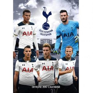 Velký kalendář 2017 Tottenham Hotspur FC