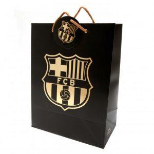 Dárková taška černá Barcelona FC
