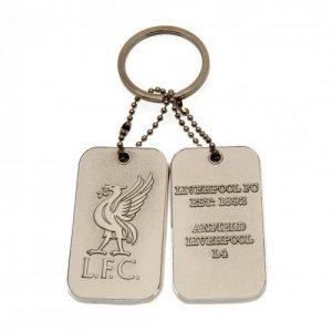 Přívěsek na klíče s psí známkou Liverpool FC