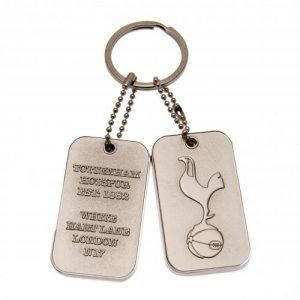 Přívěsek na klíče s psí známkou Tottenham Hotspur FC