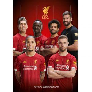 Velký kalendář 2020 Liverpool FC