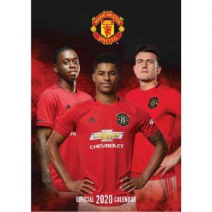 Velký kalendář 2020 Manchester United FC