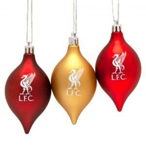 Vánoční ozdoba 3ks Liverpool FC (typ 20)