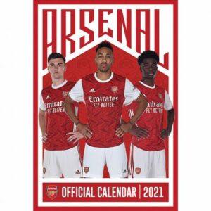 Velký kalendář 2021 Arsenal FC