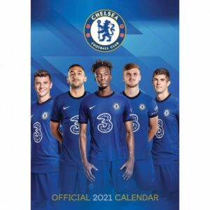 Velký kalendář 2021 Chelsea FC