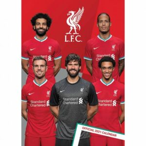 Velký kalendář 2021 Liverpool FC